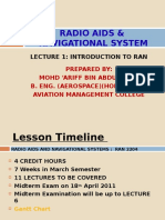 LECTURE 1 - INTRODUCTION TO RAN