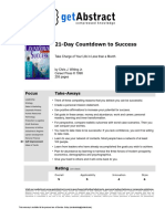 21-Day Countdown to Success