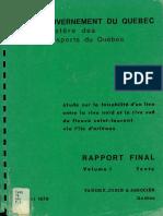1979 Etude Faisabilite VOL1