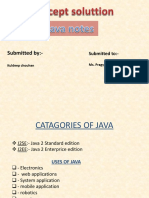 JAVA Document