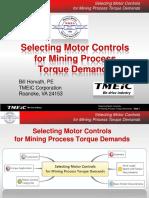 Selecting Motor Controls Mining Process TMEIC May 2013