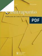 Revista Contrapunto de información y crítica literaria (UAH). Número 44