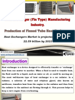 Heat Exchanger (Fin Type) Manufacturing Industry