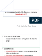 5-A Concepção Cristão Medieval Do Homem Antroplogia Filosofica I
