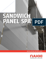 Assembly Instructions for Sandwich Panels - Ruukki