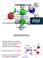 Aa y Proteinas