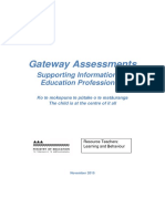 Gateway Guide for Education Professionals (November 2015)