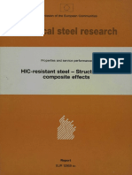 HIC Resistance Steel
