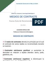 Medios de Contraste (1)