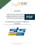 Estudio de Cortocircuito y Verificacion de Capacidad de Ruptura de Interruptores - SAESA