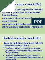 Boala de Radiatie Cronica
