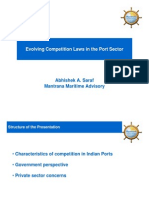 Evolving Competition Laws in the Port Sector
