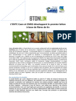 2015 01 16 Premier Beton Structurant Biosource