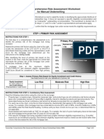 Risk Assess Worksheet