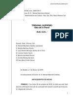 Interlocutòria del Suprem pel judici de l'1-O