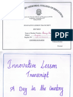 INNOVATIVE LESSON TRANSCRIPT
