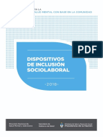 Dispositivos Inclusion Sociolaboral