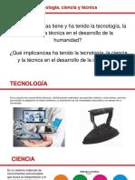 Concepto de Tecnologia_Ciencia y Tecnica