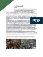 Guerra Civil de Guatemal1