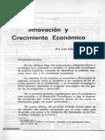 Innovacion y Crecimiento Economico