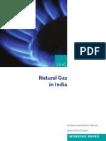 Natural Gas India 2010