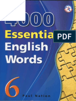 4000 Essential English Words, Book 6