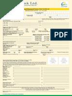 EBL Consumer FDR Form 2017