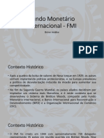 Fundo Monetário Internacional - FMI