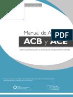 Manual de Aplicación ACB y ACE