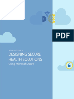 A Practical Guide to Designing Secure Health Solutions Using Microsoft Azure
