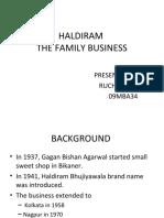 Haldiram Franchising
