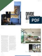 Sanctuary magazine issue 13 - Divide & Prosper - Newstead, QLD green home profile