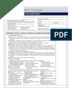 PDI Inspection Sheet ES