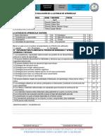 Fichas de Practica pre profesional de educación inicial