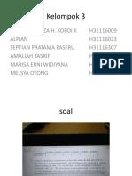 Kelompok 3 K3(2)