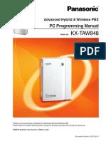 Kx-taw848 en Adv Pcprog v4 Om