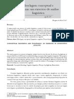 Artigo Mesclagem Conceptual e Polifonia Revista Interfaces