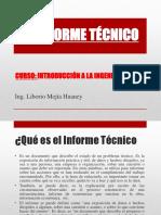 9. INFORME TECNICO