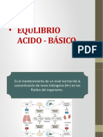 Equilibrio Acido Base Modificado