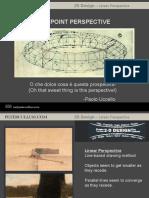 2D Design 1 Point Perspective