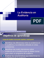 Evidencia de auditoria