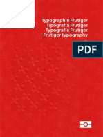 Pasaporte Frutiger