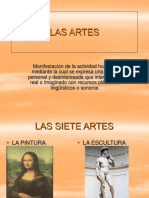 Las Artes (Power Point)