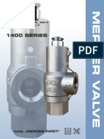 Mercer Valve 1400 Series Brochure