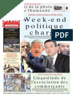 Journal Le Soir Dalgerie 31.01.2019