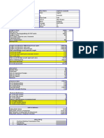 b Estimate Check List