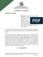 Sentencia TC-0250-16