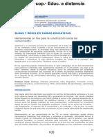 01040014 Blogs y Wikis en Tareas Educativas
