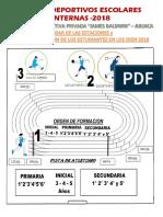 Bases de Los Juegos Deportivos 2018
