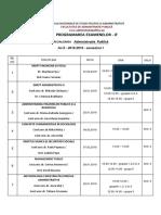 Planificare Examene AP 2 Sem i